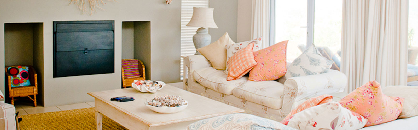 interior design, upholstery, bed linen and curtains in langebaan
